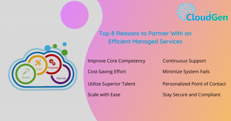 Top 8 Reasons to Partner With an Efficient Managed Services